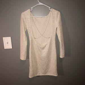 Dresses - Glittery Backless Dress